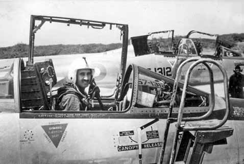 Air Mshl Nur Khan in the cockpit of Star Fighter at Sargodha (1965) - FearlessWarriors.PK