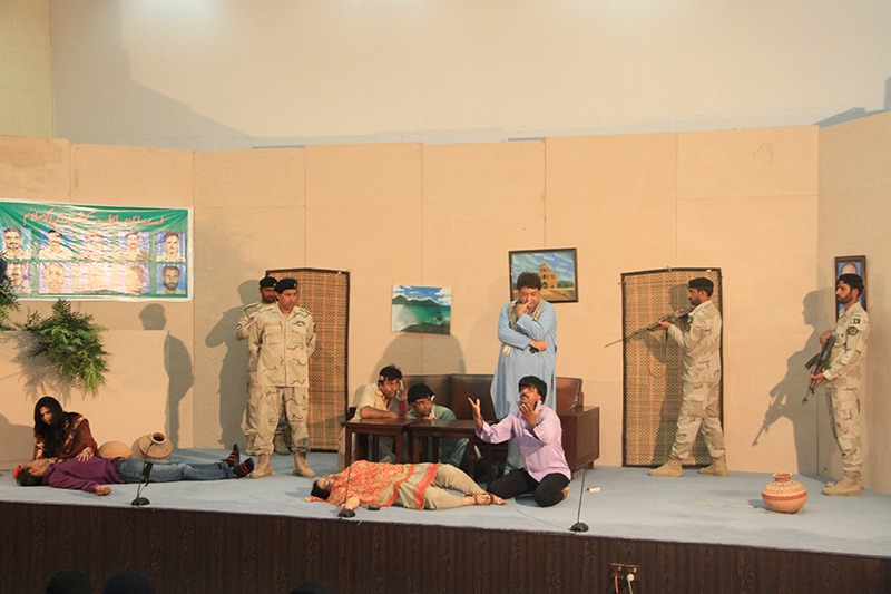 Aug 17 2019 - Drug awareness drama Band Gali held at ANF Academy Islamabad - FearlessWarriors.PK