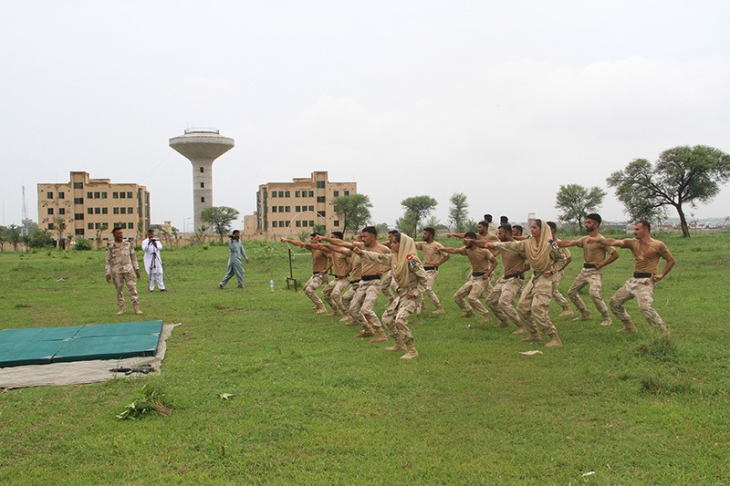 Aug 17 2019 - Eagle Sword Training Demo at ANF Academy Islamabad - FearlessWarriors.PK