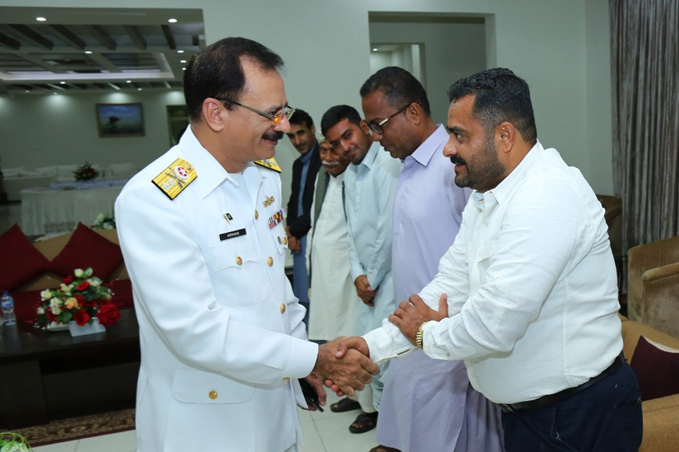 Aug 3rd 2019 - MEDIA PERSONNEL FROM GWADAR INTERACTED WITH DGPR (NAVY). - FearlessWarriors.PK