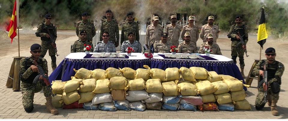 Aug 7th 2019 - Pakistan Navy Seizes Large Narco Cache off Makran Coast. - FearlessWarriors.PK