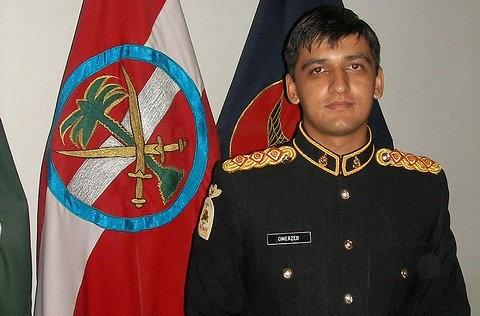 Captain Omer Zaib Afzal Shaheed - FearlessWarriors.PK
