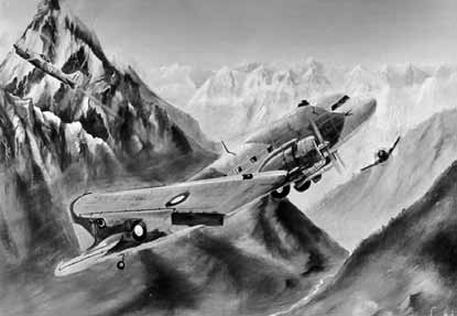 Flt Lt Dogar evading an IAF attack while flying in Indus Valley near Chilas - FearlessWarriors.PK