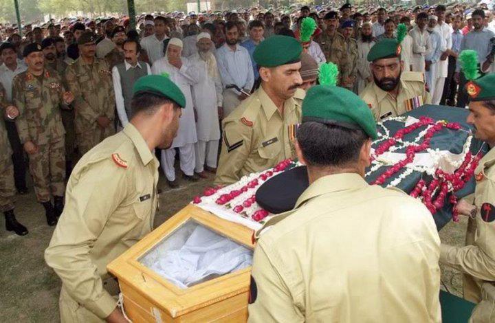 Funeral Prayers of Maj Abid Majeed Shaheed - FearlessWarriors.PK