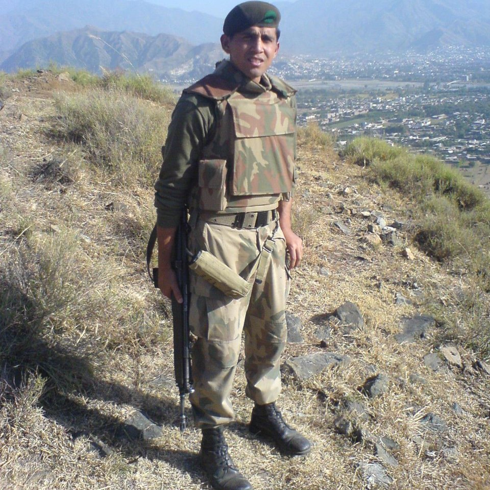 Lt Atif Qayum Shaheed in Swat during an Army Operation. - FearlessWarriors.PK
