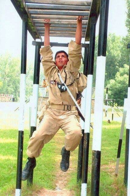 Lt Atif Qayum Shaheed during his training at Pakistan Military Academy PMA Kakul- FearlessWarriors.PK