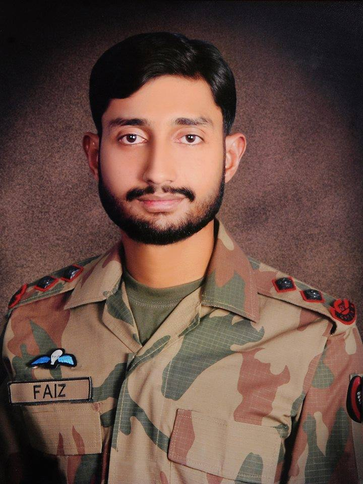 Lt Faiz Sultan Shaheed - FearlessWarriors.PK