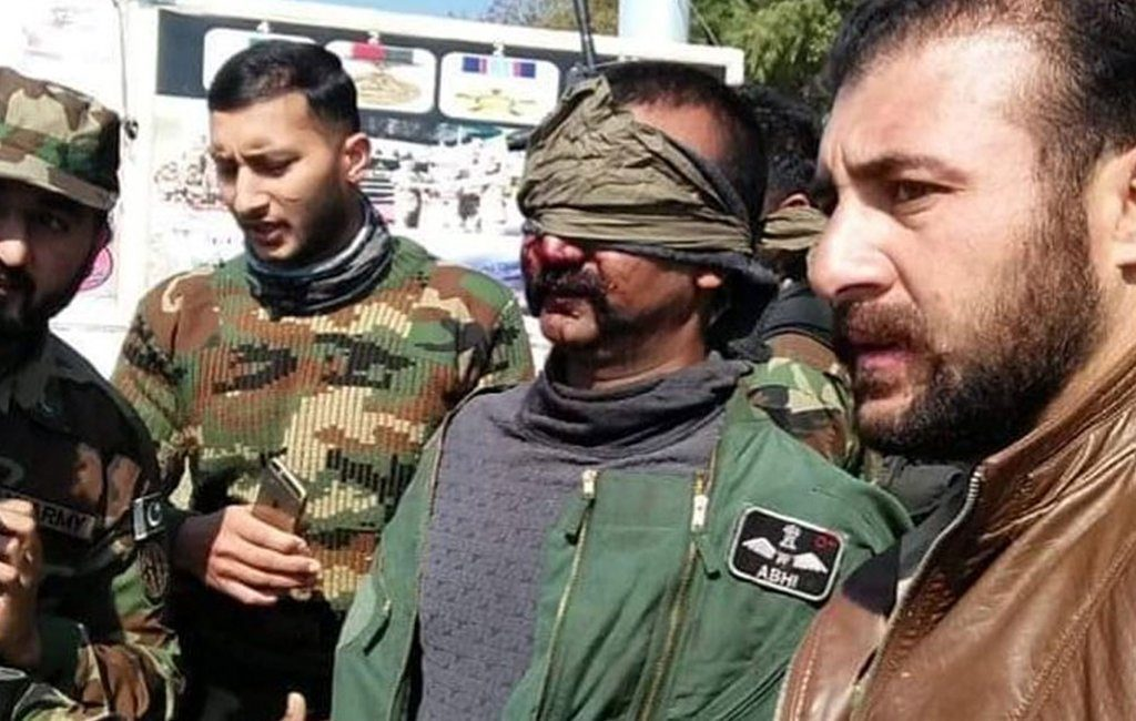 Pakistan Army arrests Indian Air Force Pilot in Azad Jammu and Kashmir.- FearlessWarriors.PK