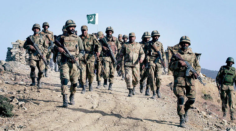 Pakistan Army soldiers during an Operation. - Photo: AP - FearlessWarriors.PK