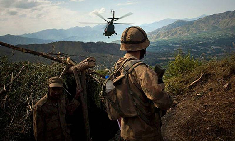 Pakistan Army soldier during an Operation. - FearlessWarriors.PK