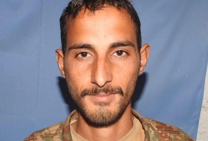 Sepoy Muhammad Sheeraz embraced shahadat at Line of Control 2- FearlessWarriors.PK