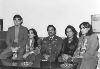 The adorable family of Air Chf Mshl Anwar Shamim - FearlessWarriors.PK