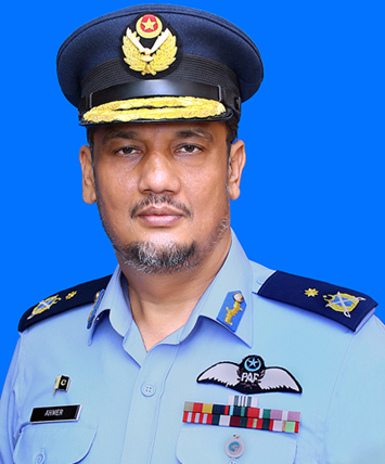 Air Commodore Syed Ahmer Raza has been appointed as an official spokesperson of Pakistan Air Force (PAF).
