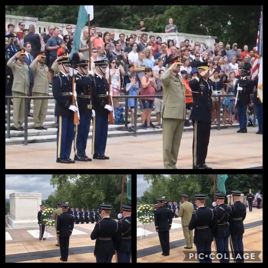 COAS General Bajwa visits Pentagon