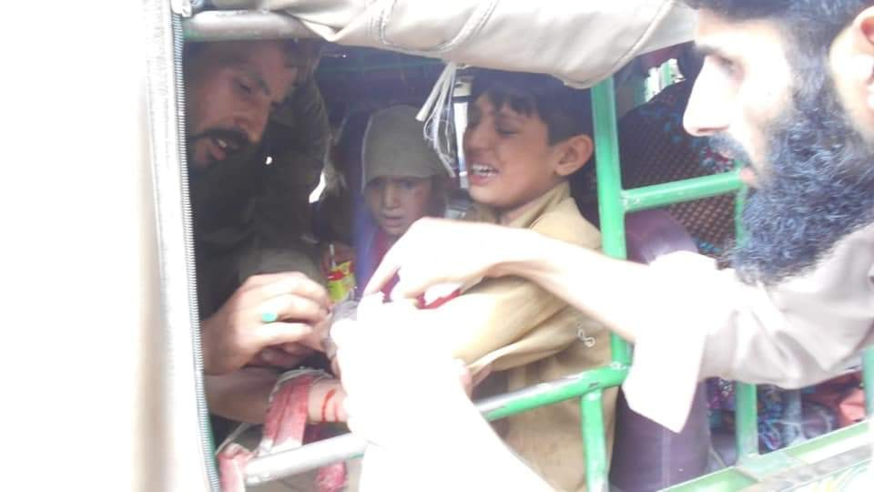 Indian Army uses cluster ammunition along LOC deliberately targeting Civilian population.