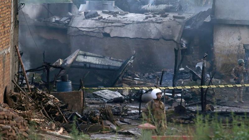 Pakistan Army plane crashed near Mora Kalu, Rawalpindi