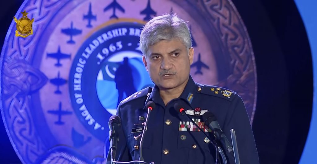 Deputy Chief of Air Staff Operations, Air Marshal Haseeb Paracha