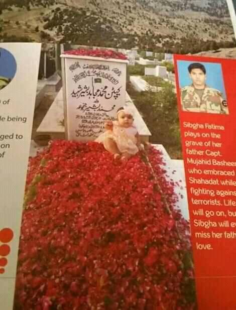 Grave of Captain Mujahid Shaheed - FearlessWarriors.PK