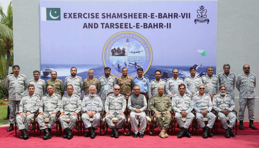 Opening Session of PakistanNavy War game SHAMSHEER-E-BAHR VII & logistic exercise TARSEEL-E-BAHAR II - FearlessWarriors.PK