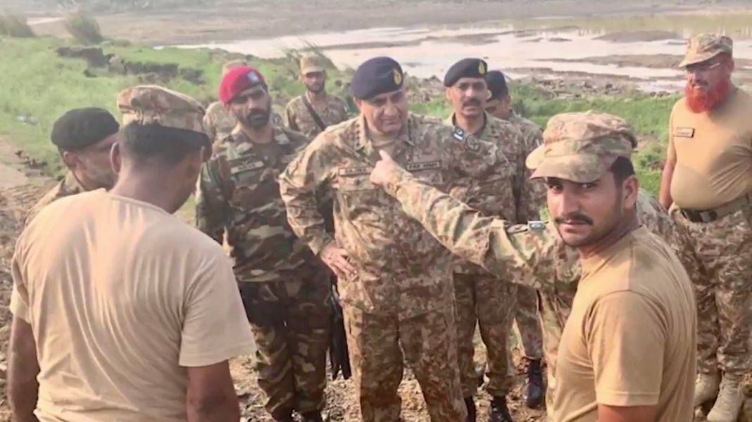 Pak Army Chief visited earthquake affected areas of Kashmir - FearlessWarriors.PK
