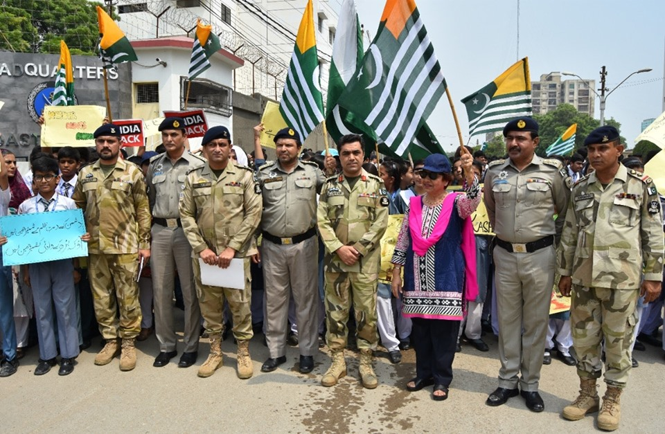 Sep 27th 2019 - Pak Coast Guard expressed solidarity with their Kashmiri children - FearlessWarriors.PK