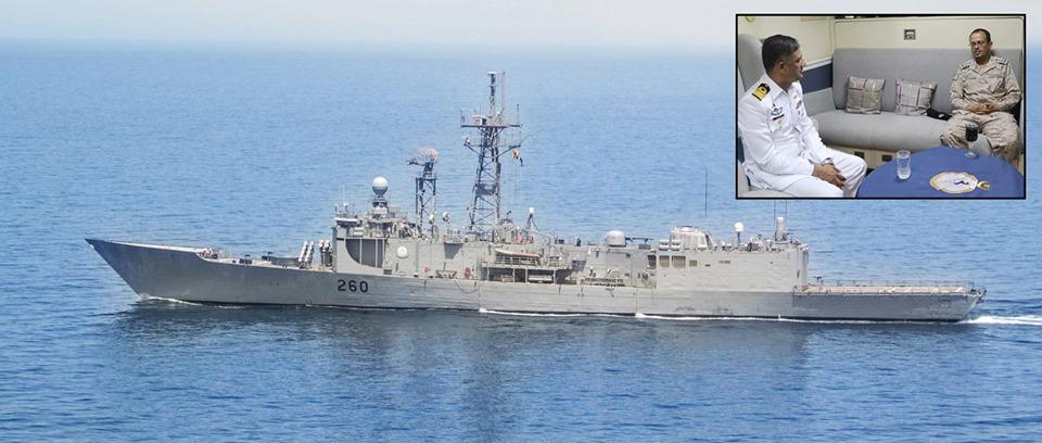 Sep 28 2019 - Pak Navy pays regards on 89th National Day of Kingdom of Saudi Arabia - FearlessWarriors.PK