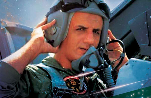 Wng Cdr Noman Ali Khan - The Slyer of Indian Air Force Mig 21 - Poster Cover- FearlessWarriors.PK
