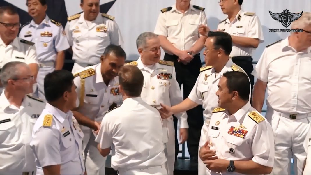 Oct 11 2019 - Pakistan Navy attended Indo Pacific 'Sea Power Conference' in Australia - FearlessWarriors.PK