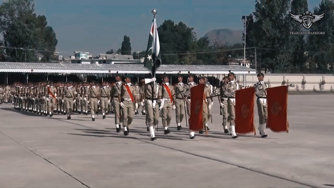 Oct 13th 2019 - Passing out parade of 140th PMA Long Course held at PMA Kakul - FearlessWarriors.PK