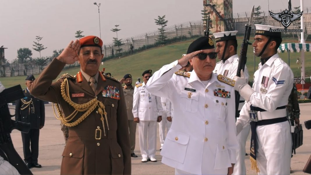 Oct 17 2019 - COS of Sultan's Armed Forces Oman appreciated Pak Navy efforts for maritime security & peace - FearlessWarriors.PK